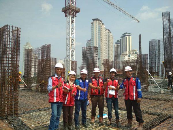 Mahasiswa Praktek Lapangan (PL) Pada Proyek Mega Konstruksi dan di Perusahaan Besar