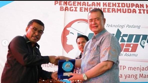 PKKMB ITP 2019, Kamis 5 September 2019. Sebagai narasumber adalah Bapak Drs. H. Nasrul Abit, Wakil Gubernur Sumatera Barat